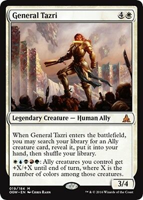MTG Magic - (M) Oath of the Gatewatch - General Tazri - NM/M