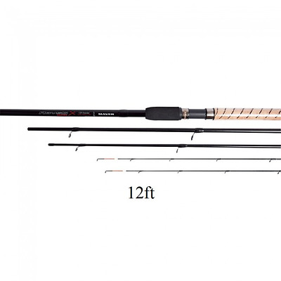 Abyss X 12ft Feeder 3 Piece Rod with 2 Tips