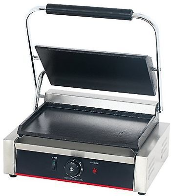 Hakka Commercial Professional Restaurant Grade Panini Press Grill and Sandwic...