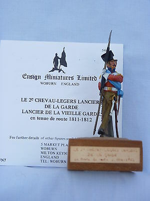 Ensign Miniatures: a set of 5 54mm French Napoleonic Figures in metal