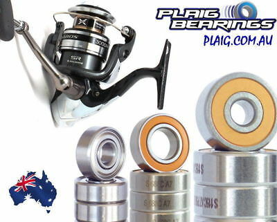 Shimano Saros Series SAR Fishing Reel Bearing Kits Stainless Steel Precision