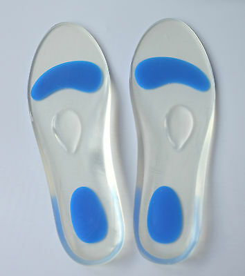 Taille Intégrale semelles gel avec metatarsal support and talon coussin