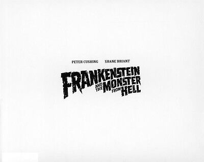 Frankenstein and the Monster from Hell UNSIGNED poster photo - H7104