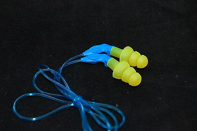3M Ultrafit 27 Corded Reusable Ear Plugs, Ear Protection Plugs 340-8002