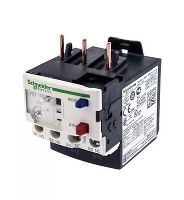 Schneider 3 Pole Thermal Overload Relay Lrd12  Tesys 034680 5.5 - 8 Amp