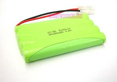9.6V Ni-MH 1800mAh 8AA 8-Cell Battery Pack w/. Tamiya for RC Boat Car Truck Tank