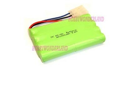 9.6V Ni-MH 1800mAh 8 AA 8-Cell Battery Pack with 3 PIN plug for RC Boat Car Tank
