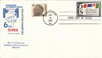 1966 USA SIPEX (type2) FDC