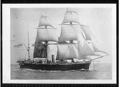 Hms Bellerophon British Iron Clad Warship 1866 Bw Photo National Maritime Museum