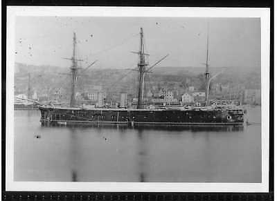 Bw Photo National Maritime Museum Hms Bellerophon British Iron Clad Warship 1866