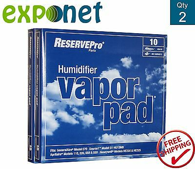 ReservePro Generalaire GA10 Humidifier Pads Pack of 2 Filters