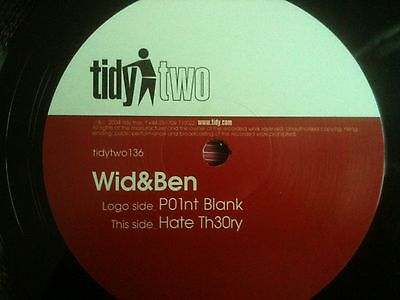 Wid and & Ben Po1nt point blank Hate th30ry theory hard house vinyl record remix