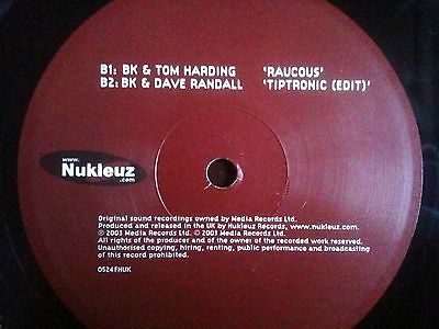 BK and & Paul Glazby Outta my house Tom Harding Raucous Dave Randall Tiptronic