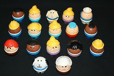 Little Tikes Toddle Tots Figures Lot of 17 Sailor Dog AA