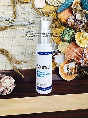Murad Advanced Acne & Wrinkle Reducer 1 oz NEW and SUPER FRESH SHIPPED SAME DAY