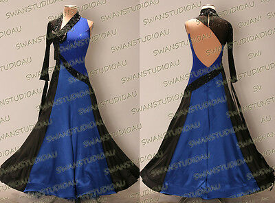 Ballroom .standard. Smooth Dance Competition Dress Size S M L Wb3400
