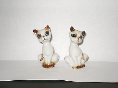 Vintage Cat Salt N Pepper Shakers  1950's