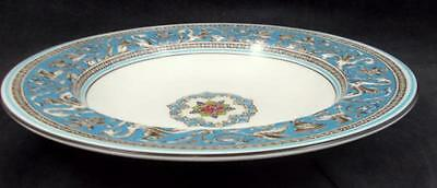 Wedgwood FLORENTINE TURQUOISE Rim Soup Bowl Bone China W2714 GREAT CONDITION