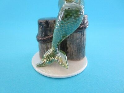 Description Hagen-RHAGEN RENAKER MYTHICAL MERMAID FIGURINE SO CUTE POPULAR `MINT