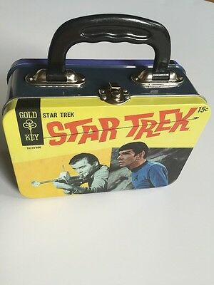 Small Star Trek Tin Lunchbox