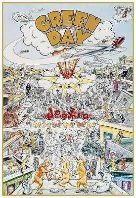 Green Day - POSTER - DOOKIE promo print - AMAZING IMAGE punk rock