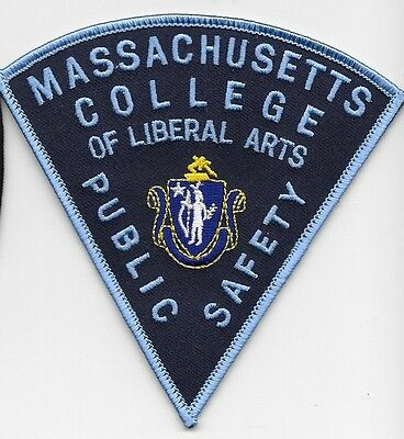 Massachusetts College of Liberal Arts Public Safety patch Mass Ma