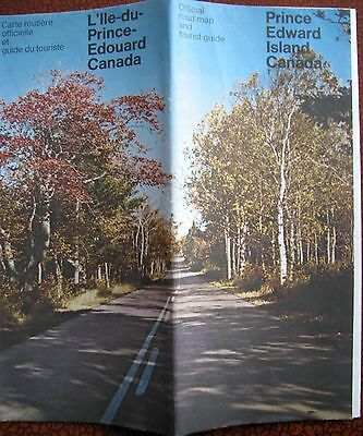 PRINCE EDWARD ISLAND  Highway Map   (date unknown)