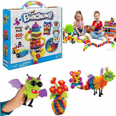 Bunchems Mega Pack Over 400 Pieces Toy Xmas Festival Kids Children Birthday Gift