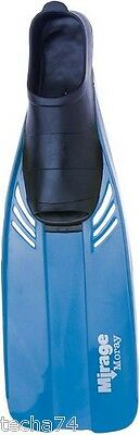 MIRAGE MORAY SNORKELLING FINS Flippers Blue Baby - Infant - Junior