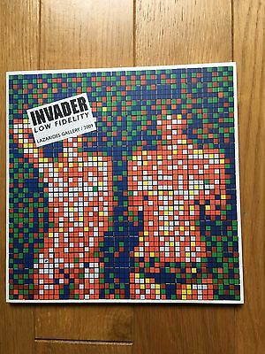SPACE INVADER Low Fidelity limited edition soldout (w banksy obey dran stik pic)