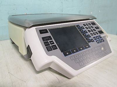 """""""HOBART-QUANTUM SUFFIX 1"""" PROGRAMMABLE COMMERCIAL WEIGHT SCALE w/LABEL PRINTER"""