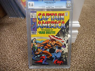 Captain America 121 cgc 9.6 Marvel 1970 origin retold yellowjacket nick fury NM
