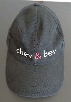 CHEV & BEV Chevy Chase TV Show PROMO Cast Crew Hat Cap ABC Otto FREE SHIPPING