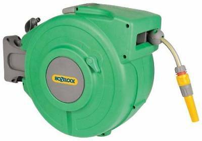New Hozelock Auto Hose Reel 20m Garden hose Automatic rewind wall mounted