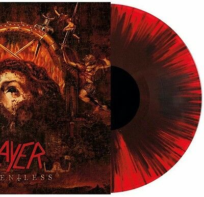 SLAYER – Repentless – RED BLACK SPLATTER LP (LTD 500) – NEW & SEALED