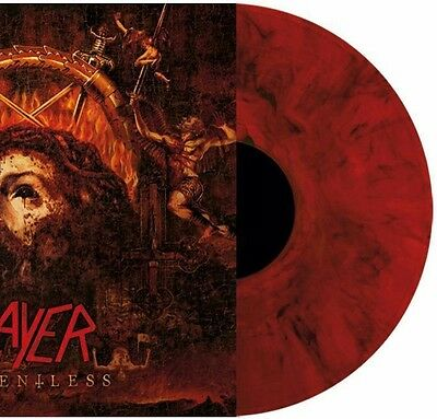 SLAYER – Repentless – RED MARBLED LP (LTD 500) – NEW & SEALED