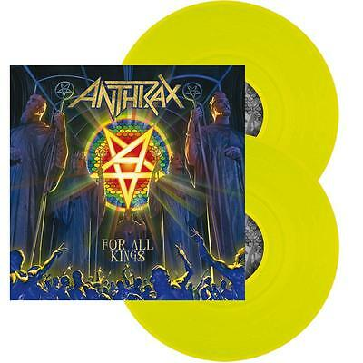 ANTHRAX – For All Kings – YELLOW 2LP (LTD 300) – NEW & SEALED