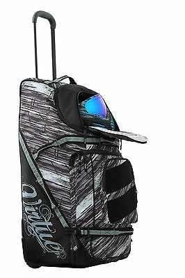 Virtue High Roller Gear Bag - Graphic Pattern Rolling Paintball Gear Bag