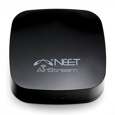 Neet® - WiFi Wireless Music Receiver - AIRPLAY + DNLA - for APPLE (iPhone, PC)