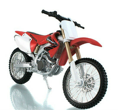 Maisto 1:12 Honda CRF450R Motorcycle Motocross Model Toy Red White New