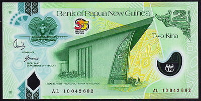 Papua New Guinea 2 Kina, 2010 AL10, Commemorative,P.38