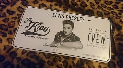 Elvis Presley License Plate - American Crew Limited Edition