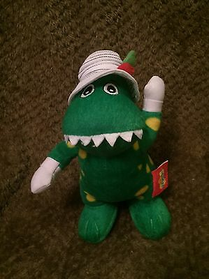 Rare Dorothy The Dinosaur Wiggles Soft Toy