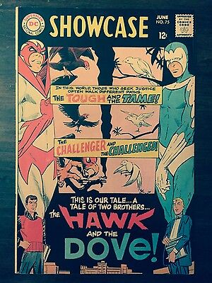 Showcase #75 First Appearance Of Hawk And Dove