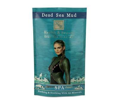 PURE DEAD SEA BLACK MINERAL MUD 600g LARGE BAG - LOWEST PRICE!!!