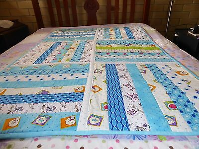 Baby Time Handmade Patchwork Quilt