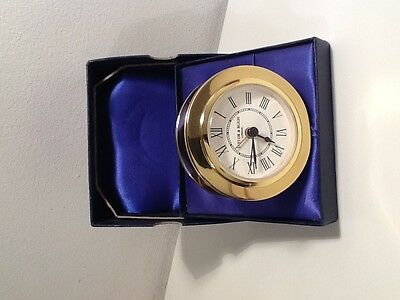Brass Alarm Clock By Taylor & Bligh - P&o Cruise Lines - The P.o.s.h Club