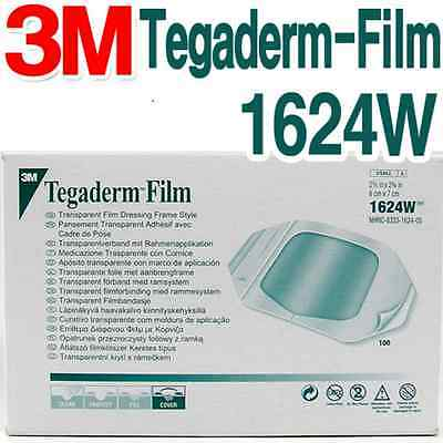 Pack of 10 3M TEGADERM TRANSPARENT DRESSING 2 3/8 x 2 3/4 DIFFERENT PACKS #1624W