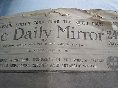 The Daily Mirror May 21st 1913