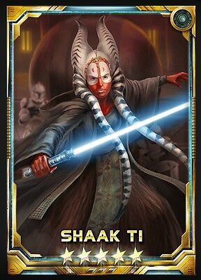 Star Wars Force Collection 5* Base Shaak Ti [Tipoca Guardian]